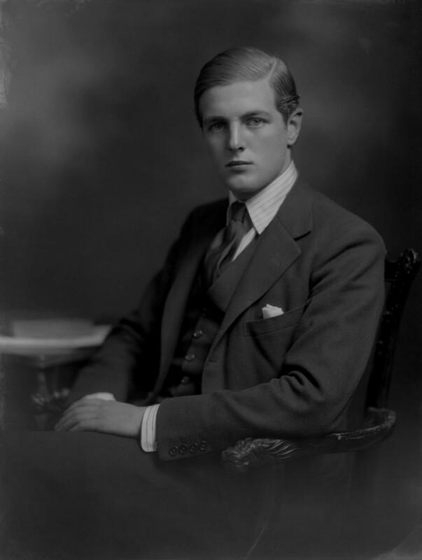 Randolph Frederick Edward Spencer Churchill, by Lafayette, 26 September 1930 - NPG x70660 - © National Portrait Gallery, London
