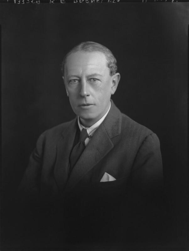 Sir Kenneth Ralph Barnes, by Lafayette (Lafayette Ltd), 12 April 1928 - NPG x70742 - © National Portrait Gallery, London