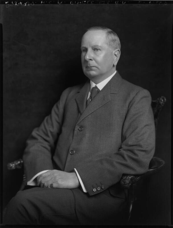 Henry Campbell Alchorne, by Lafayette (Lafayette Ltd), 2 June 1925 - NPG x70773 - © National Portrait Gallery, London