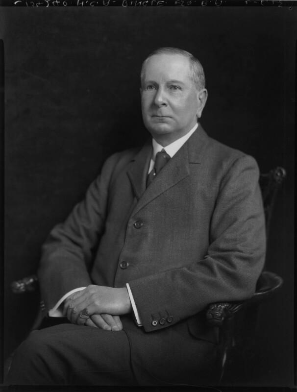 Henry Campbell Alchorne, by Lafayette (Lafayette Ltd), 2 June 1925 - NPG x70774 - © National Portrait Gallery, London