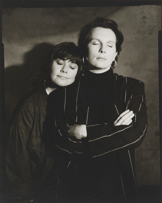 Dawn French; Jennifer Saunders, by Jillian Edelstein, 1991 - NPG x45386 - © Jillian Edelstein / Camera Press