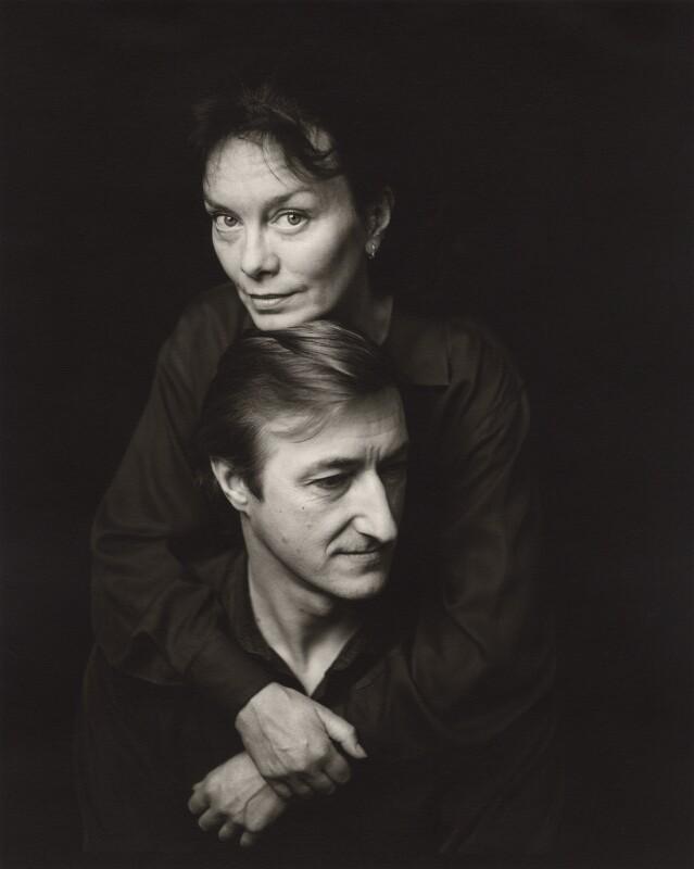 Julian Patrick Barnes and his wife Pat Kavanagh, by Jillian Edelstein, 1991 - NPG x45381 - © Jillian Edelstein / Camera Press