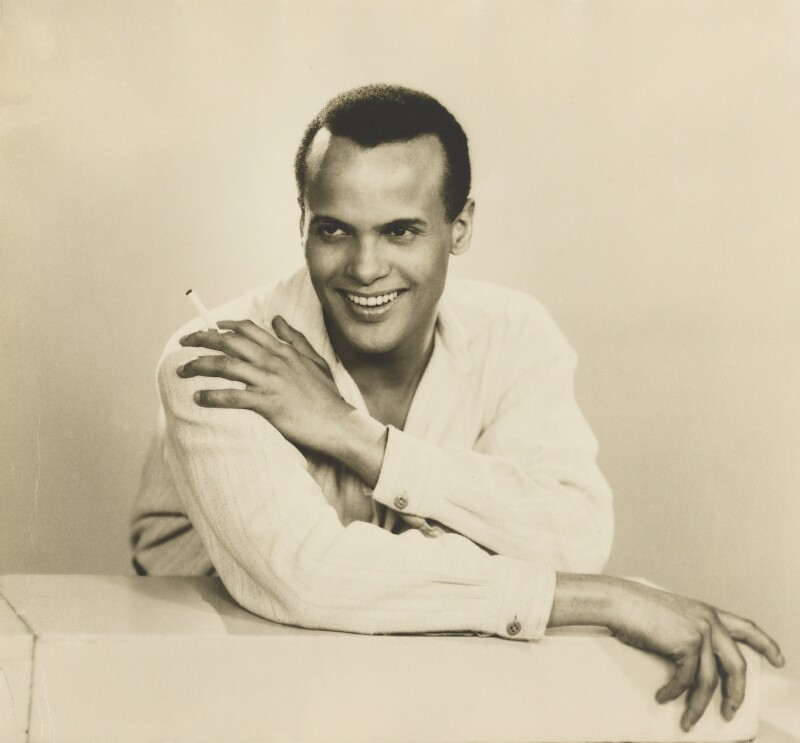 Harry Belafonte, by Dorothy Wilding, 25 February 1954 - NPG x4381 - © National Portrait Gallery, London