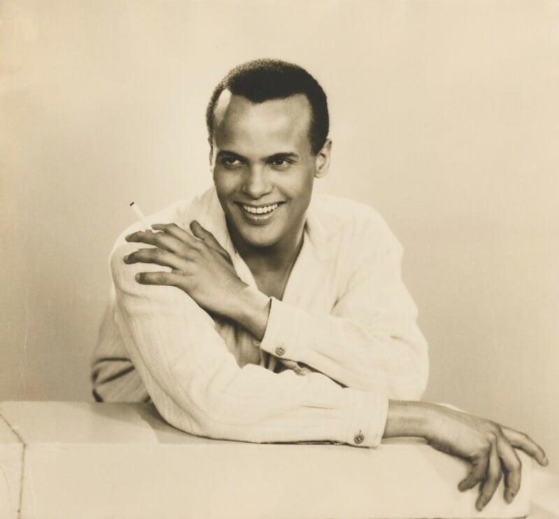 Harry Belafonte, by Dorothy Wilding, 25 February 1954 - NPG x4381 - © National Portrait Gallery, London