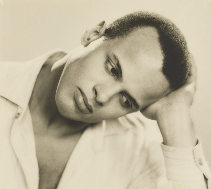 Harry Belafonte, by Dorothy Wilding, 25 February 1954 - NPG x4390 - © National Portrait Gallery, London