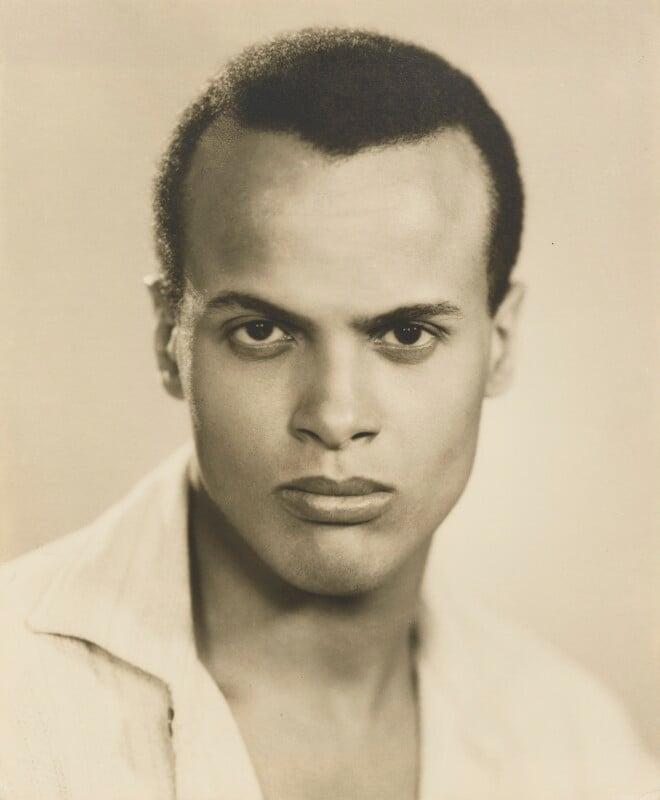 Harry Belafonte, by Dorothy Wilding, 25 February 1954 - NPG x4391 - © National Portrait Gallery, London