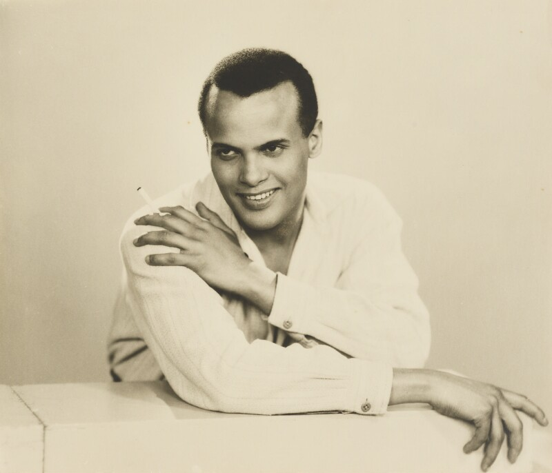 Harry Belafonte, by Dorothy Wilding, 25 February 1954 - NPG x4392 - © National Portrait Gallery, London