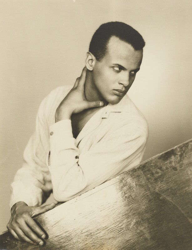 Harry Belafonte, by Dorothy Wilding, 25 February 1954 - NPG x4393 - © National Portrait Gallery, London