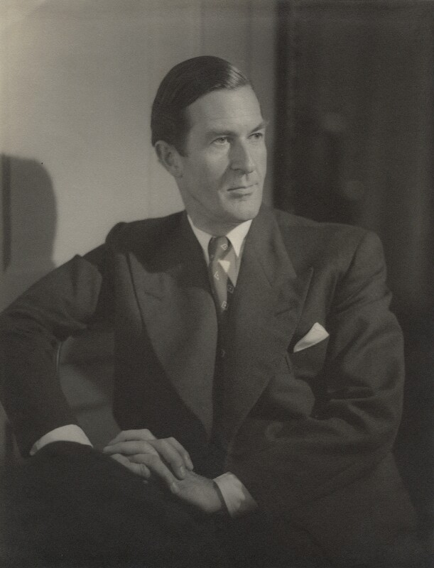 Nicolas Clerihew Bentley, by Howard Coster, 1953 - NPG x728 - © National Portrait Gallery, London