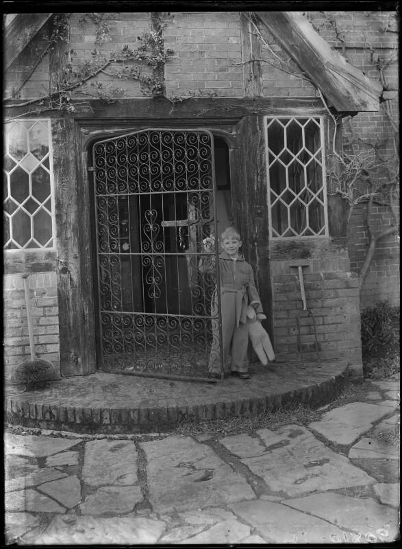 Timothy Gwynne Barker, by Bassano Ltd, 5 January 1945 - NPG x72889 - © National Portrait Gallery, London