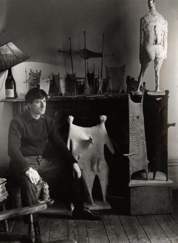 (William) Kenneth Armitage, by Ida Kar, 1954 - NPG x88598 - © National Portrait Gallery, London