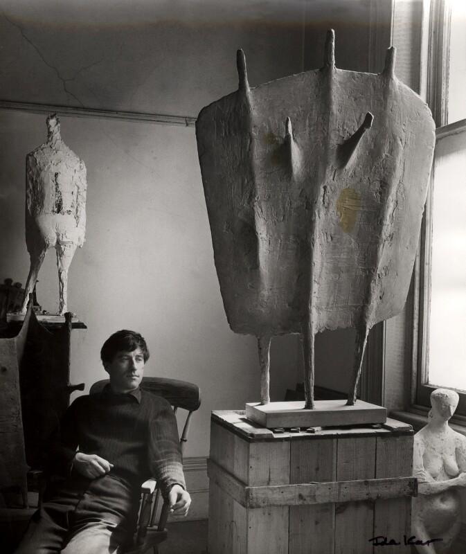 (William) Kenneth Armitage, by Ida Kar, 1954 - NPG x88599 - © National Portrait Gallery, London