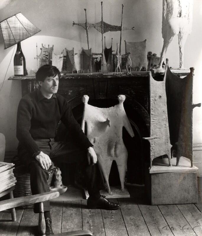 (William) Kenneth Armitage, by Ida Kar, 1954 - NPG x88600 - © National Portrait Gallery, London