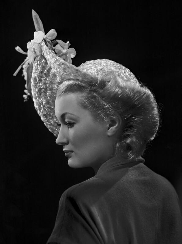 Christine Norden (née Mary Lydia Thornton), by Bassano Ltd, 14 May 1946 - NPG x73445 - © National Portrait Gallery, London