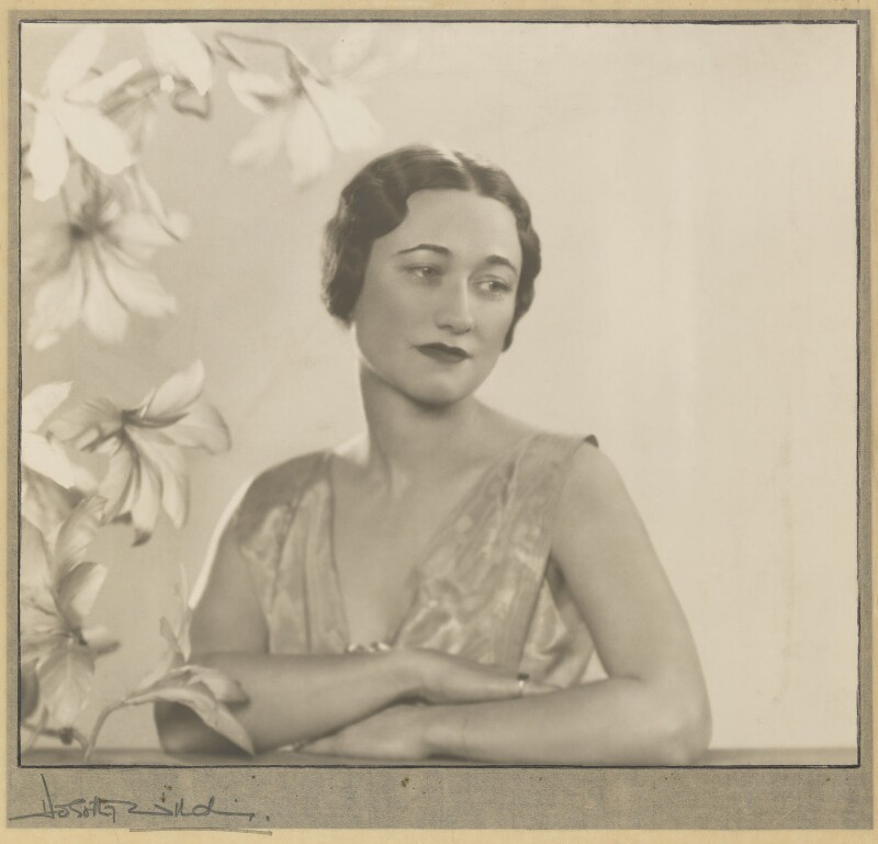 Wallis, Duchess of Windsor, by Dorothy Wilding, 1935 - NPG P870(15) - © William Hustler and Georgina Hustler / National Portrait Gallery, London