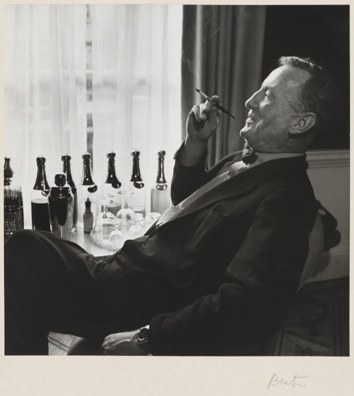 Ian Fleming, by Cecil Beaton, October 1962 - NPG P869(14) - © Cecil Beaton Studio Archive, Sotheby's London