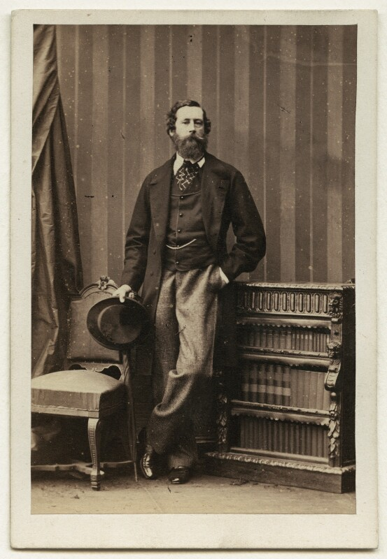 James Hamilton, 1st Duke of Abercorn, by Camille Silvy, 11 June 1861 - NPG Ax7424 - © National Portrait Gallery, London