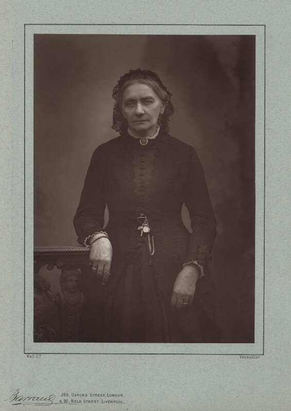 Clara Schumann, by Herbert Rose Barraud, published by  Richard Bentley & Son, published 1888 - NPG x74360 - © National Portrait Gallery, London