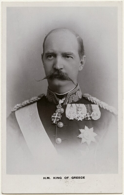 George I, King of Greece, by Unknown photographer, 1900-1910 - NPG x74415 - © National Portrait Gallery, London