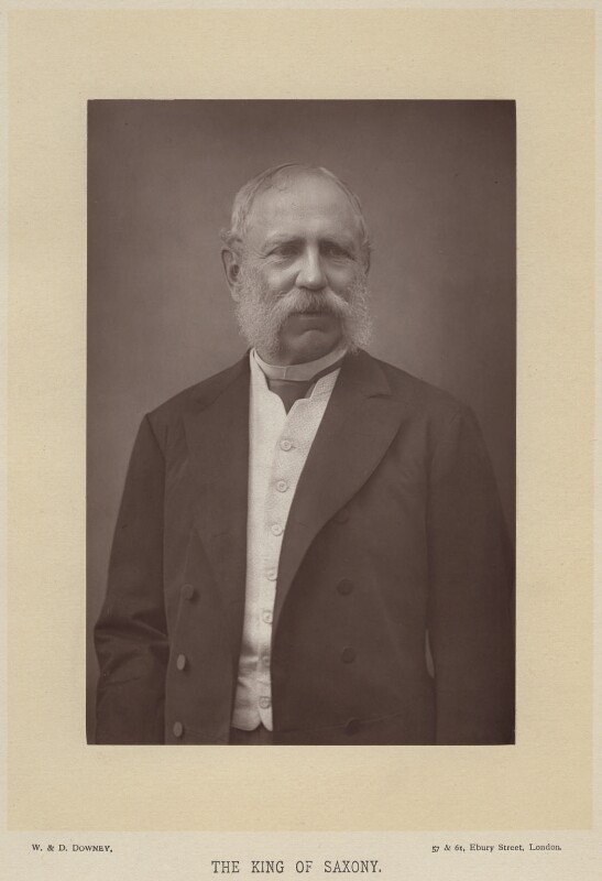 King Albert I of Saxony, by W. & D. Downey, published by  Cassell & Company, Ltd, published 1894 - NPG x74513 - © National Portrait Gallery, London