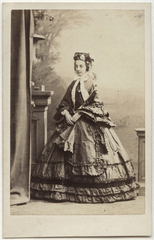 Princess Marie Isabelle of Orléans, Countess of Paris, by Antoine Claudet, 1860s - NPG x74603 - © National Portrait Gallery, London