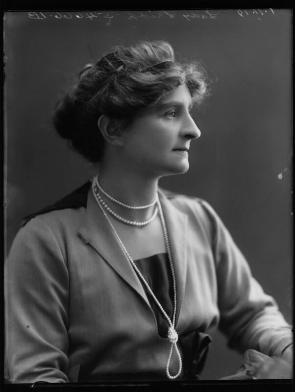 Margaret (née Scott), Lady Fripp, by Bassano Ltd, 1 November 1919 - NPG x75279 - © National Portrait Gallery, London