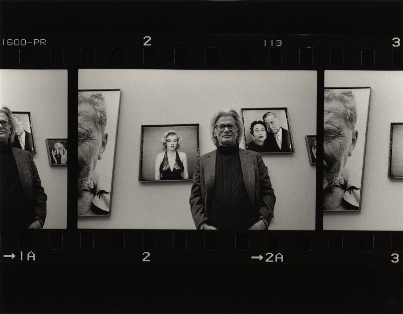 Richard Avedon, by Phil Weedon, 22 March 1995 - NPG x75721 - © Phil Weedon / National Portrait Gallery, London