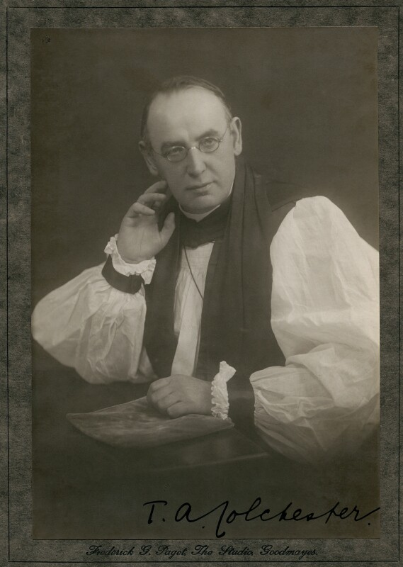 Thomas Alfred Chapman, by Frederick G. Paget, 1920s-1930s - NPG x75793 - © reserved; collection National Portrait Gallery, London