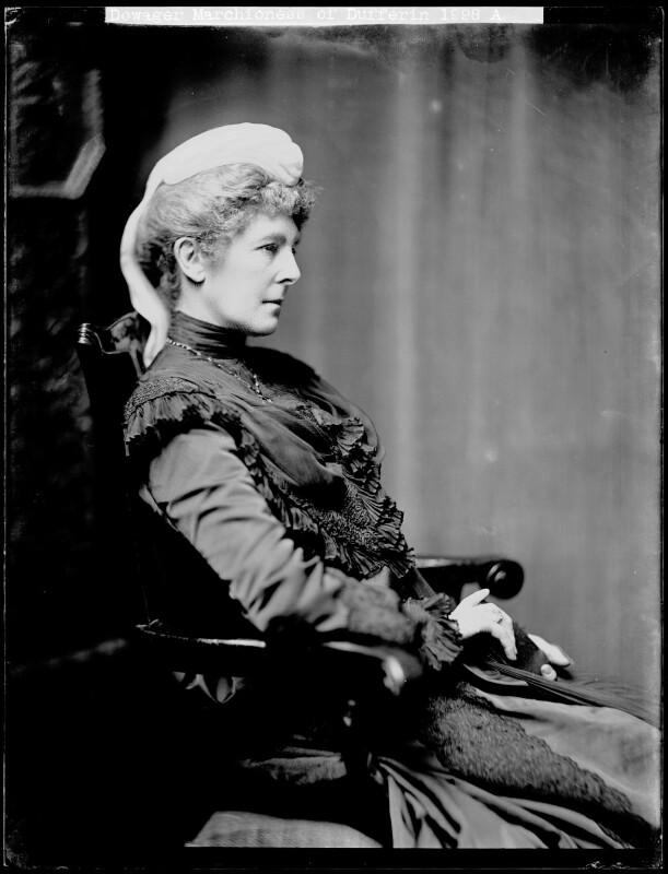 Hariot Georgina (née Rowan-Hamilton), Marchioness of Dufferin and Ava, by H. Walter Barnett, 1900-1910 - NPG x75852 - © National Portrait Gallery, London