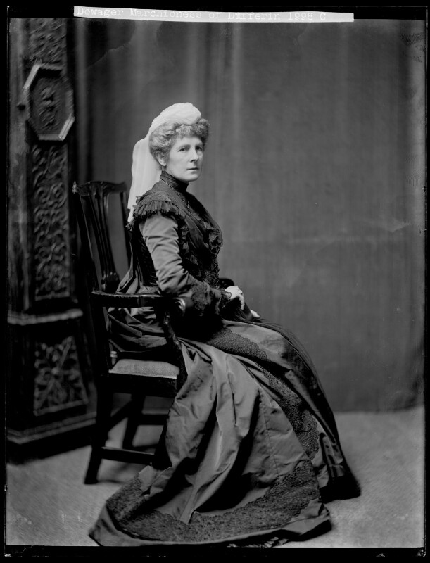Hariot Georgina (née Rowan-Hamilton), Marchioness of Dufferin and Ava, by H. Walter Barnett, 1900-1910 - NPG x75854 - © National Portrait Gallery, London
