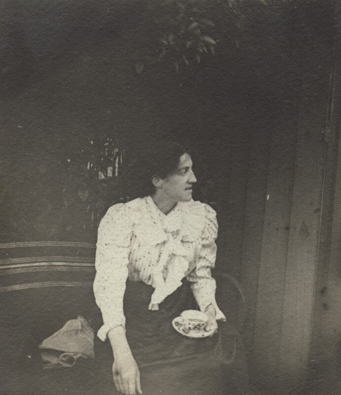 May Morris, by Unknown photographer, late 1890s - NPG x76476 - © National Portrait Gallery, London