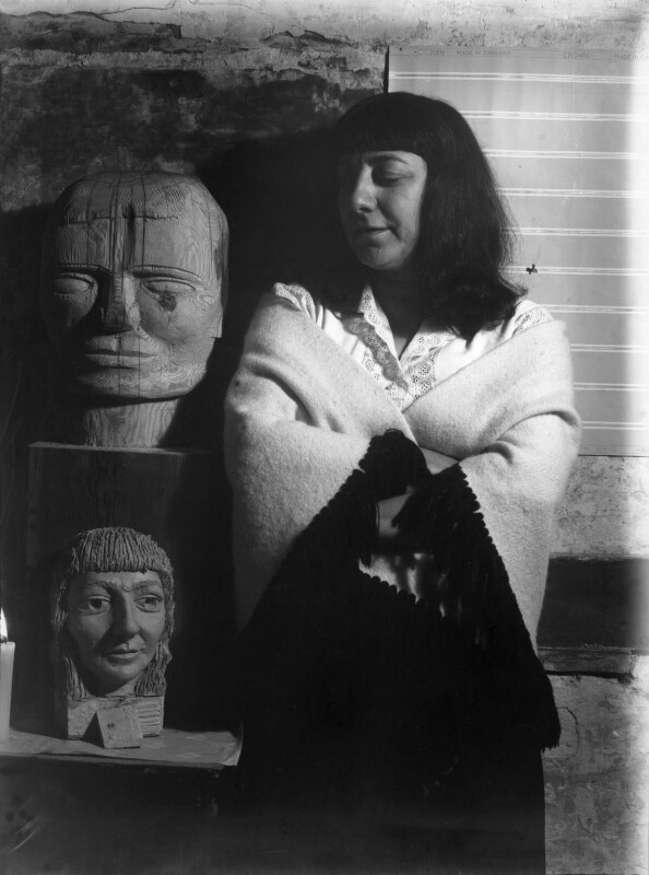 Ida Kar, by Brian Robins, 1955 - NPG x88607 - © reserved; collection National Portrait Gallery, London
