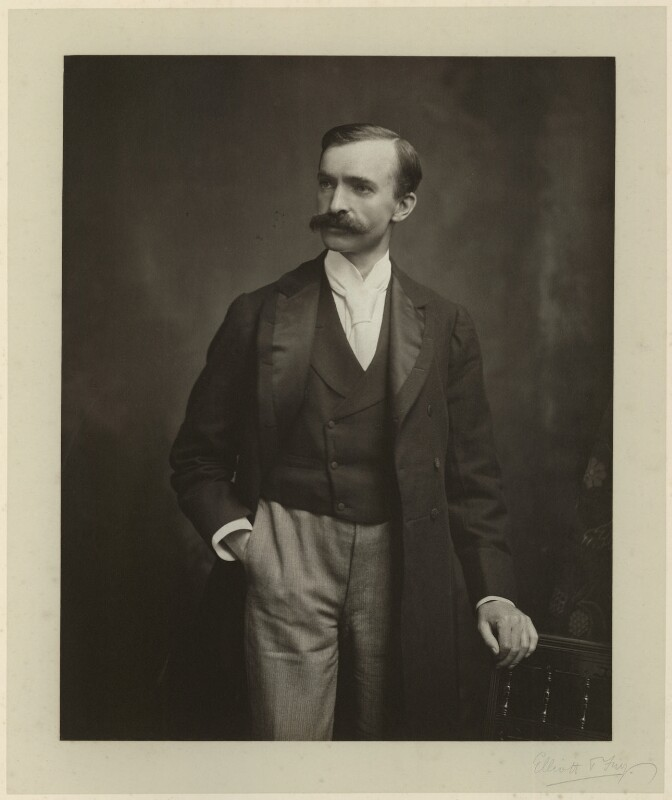 Thomas Preston, by Elliott & Fry, 1890s - NPG x76558 - © National Portrait Gallery, London