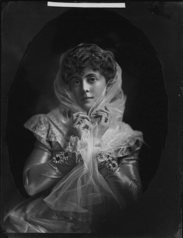 Lady Sarah Isabella Augusta Wilson (née Spencer-Churchill), by Henry Walter ('H. Walter') Barnett,  - NPG x76621 - © National Portrait Gallery, London