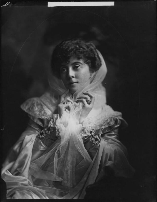 Lady Sarah Isabella Augusta Wilson (née Spencer-Churchill), by Henry Walter ('H. Walter') Barnett,  - NPG x76623 - © National Portrait Gallery, London