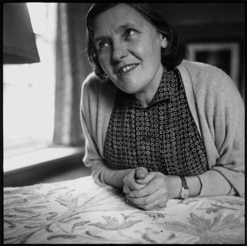 Olive Alwyn (née Pull), by Lida Moser, 1953 - NPG x76712 - © Lida Moser