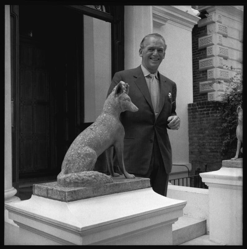 Douglas Fairbanks Jr, by Francis Goodman, early 1960s - NPG x76798 - © National Portrait Gallery, London