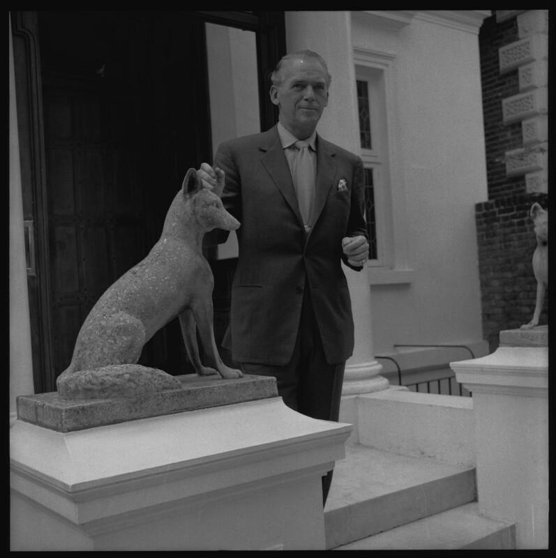 Douglas Fairbanks Jr, by Francis Goodman, early 1960s - NPG x76801 - © National Portrait Gallery, London