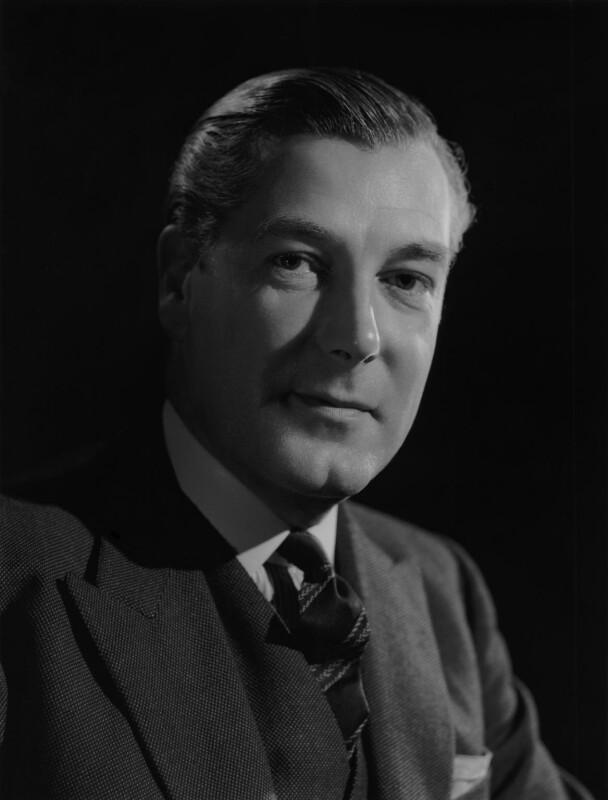 David McAdam Eccles, 1st Viscount Eccles, by Bassano Ltd, 20 February 1947 - NPG x77266 - © National Portrait Gallery, London