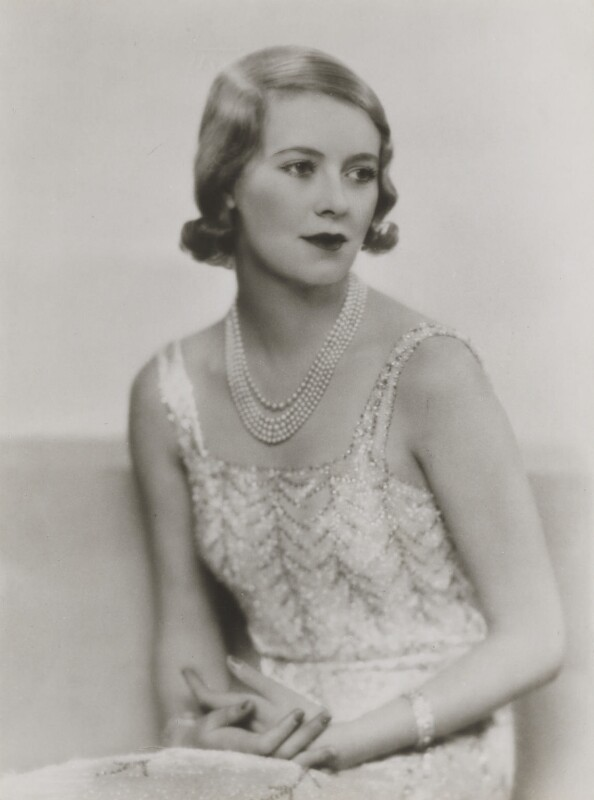 Sylvia (née Hawkes), Lady Ashley, by Dorothy Wilding, 1932 - NPG x4359 - © William Hustler and Georgina Hustler / National Portrait Gallery, London