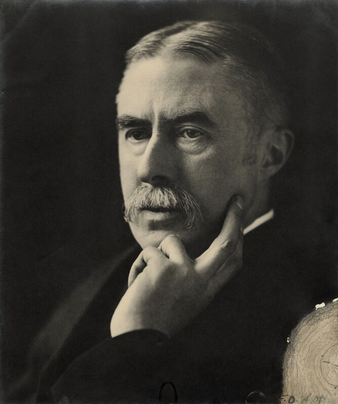 A.E. Housman, by E.O. Hoppé, circa 1911 - NPG x7765 - © 2019 E.O. Hoppé Estate Collection / Curatorial Assistance Inc.