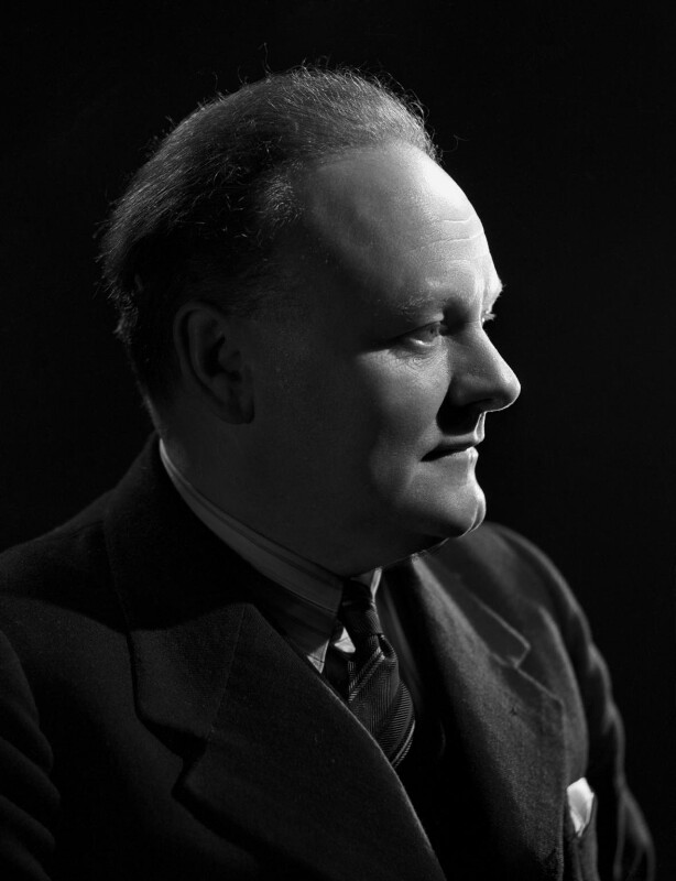 Victor Francis Yates, by Bassano Ltd, 10 June 1947 - NPG x77852 - © National Portrait Gallery, London