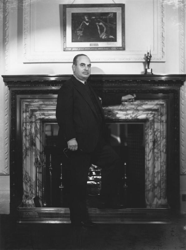Harry Louis Nathan, 1st Baron Nathan, by Bassano Ltd, 9 November 1946 - NPG x78136 - © National Portrait Gallery, London