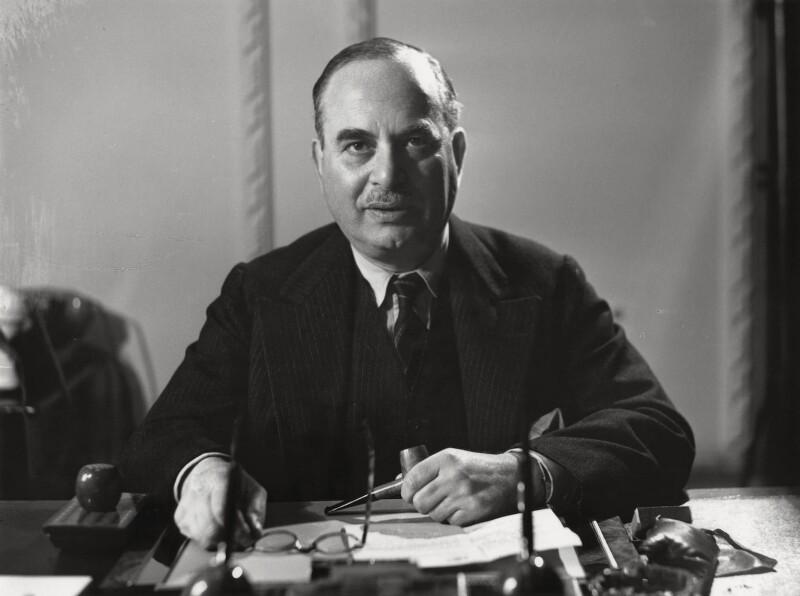 Harry Louis Nathan, 1st Baron Nathan, by Bassano Ltd, 9 November 1946 - NPG x78138 - © National Portrait Gallery, London