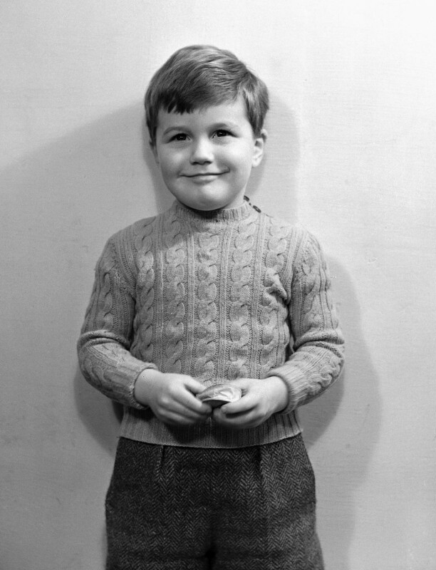 Hon. Trevor Garro Trefgarne, by Bassano Ltd, 17 December 1948 - NPG x78521 - © National Portrait Gallery, London