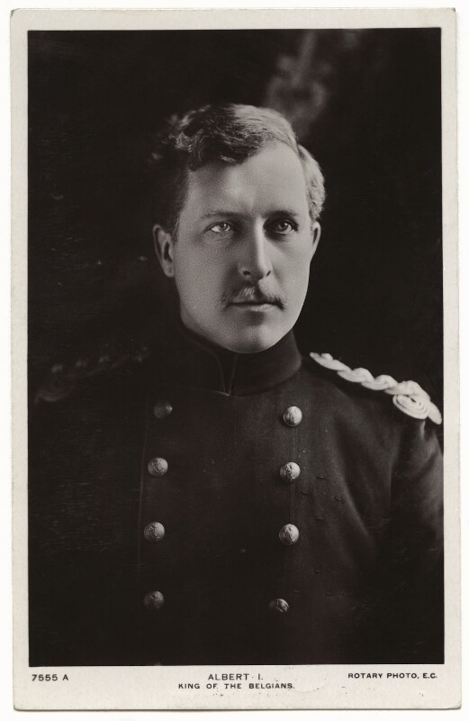 Albert I, King of the Belgians, by Keturah Ann Collings, published by  Rotary Photographic Co Ltd, 1900s - NPG x7885 - © National Portrait Gallery, London