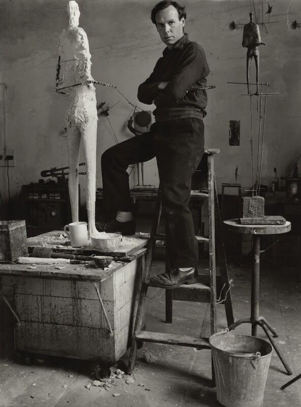 Reg Butler, by Ida Kar, 1954 - NPG x31621 - © National Portrait Gallery, London