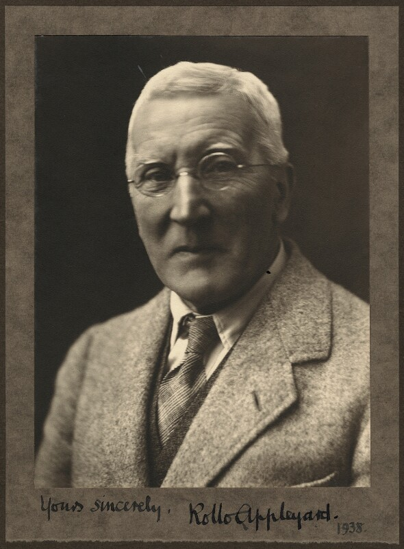 Rollo Appleyard, by (Mary) Olive Edis (Mrs Galsworthy), before 1938 - NPG x7958 - © National Portrait Gallery, London