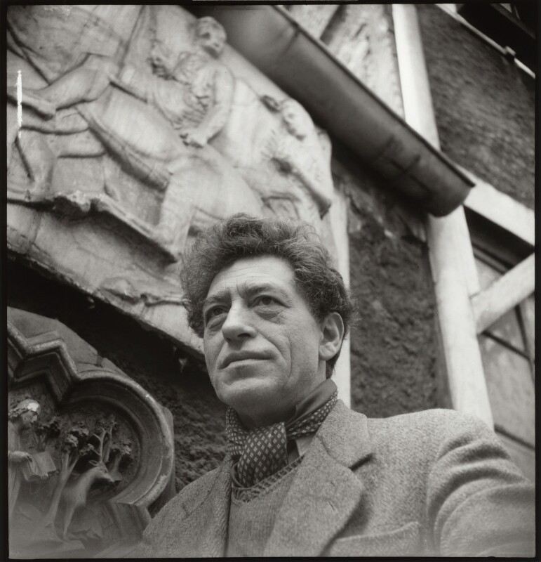 Alberto Giacometti, by Ida Kar, 1954 - NPG x31632 - © National Portrait Gallery, London