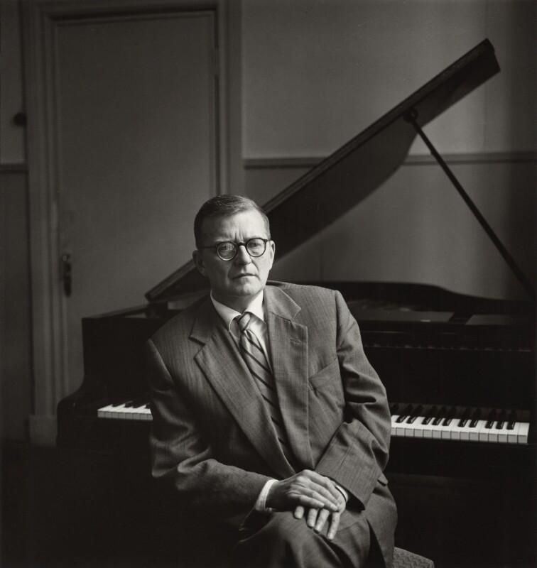 Dmitri Dmitriyevich Shostakovich, by Ida Kar, 1959 - NPG x31637 - © National Portrait Gallery, London